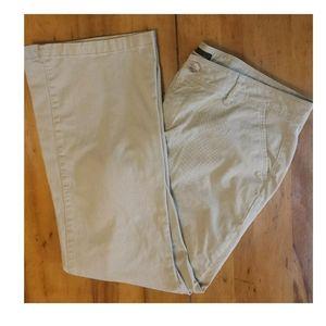 Women's Khaki pants sz 14 regular curvy classic